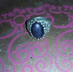 Sterling silver man's ring